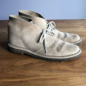 Men's Clark's Suede Desert Boot - Size 9